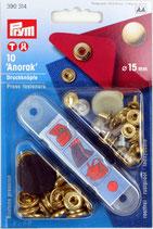 Druckknöpfe Anorak - 15mm - Prym