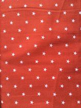 Popeline Baumwolle - Sterne terra