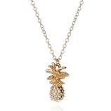 Halskette - Vergoldet Ananas