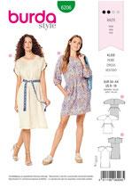 Burda - 6206 Kleid
