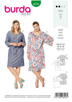 Burda - 6216 Kleid