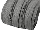 Reißverschluss - 5mm - zinc