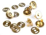 Magnetverschluss - golden - 18mm