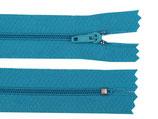 Reißverschluss Spirale 3mm - tile blue - 35cm
