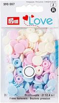 Prym Love Druckknopf - Rosa-Mix