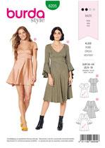 Burda - 6205 Kleid