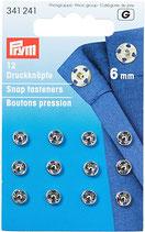 Druckknöpfe - 6mm - Prym