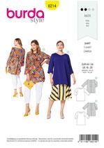 Burda - 6214 Shirt