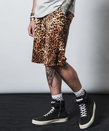 CHORD NUMBER EIGHT  LEOPARD SHORTS