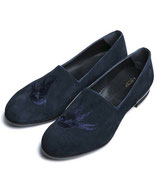 CHORD NUMBER EIGHT SWALLOW LEATHER SLIP ON