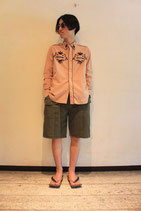 VARDE77-MAKEOVER- AAS JOINT SHORT PANTS