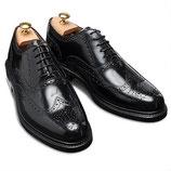 GORDON&BROS Wing tip shoes(Black)