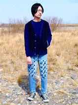 ICHIMILE GRATORY 2017 AW START         remake jeans (wooden mosaic)      ※完売致しました。