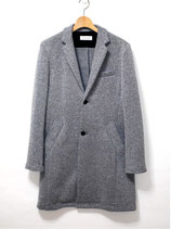 ICHIMILE GRATORY            knit cut chester coat