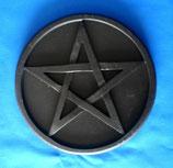 Altarpentakel Pentagramm schwarz
