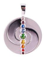 Chakra Balance Anhänger Mit Swarovski Elements