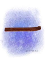 Stäbchenhalter: Skiform Shisham geschnitzt breit