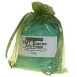 PMS-Linderung - Geranie Lavendel & Bergamotte Badesalz in Beuteln