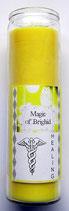 Magic of Brighid Glaskerzen Healing (Heilung)