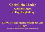 Der Geist des Herrn erfüllt das All GL 347