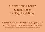 Komm, Gott des Lebens, Heilger Geist GL 783 (Augsburg) / GL 779 (Eichstätt) / GL 790 (Fulda)