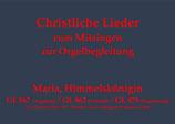 Maria, Himmelskönigin GL 867 (Augsburg) / GL 862 (Eichstätt) / GL 879 (Regensburg)