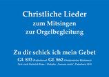 Zu dir schick ich mein Gebet GL 833 Paderborn / GL 862 Ostdeutsche Bistümer