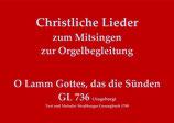 O Lamm Gottes, das die Sünden GL 736 (Augsburg)