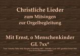 Mit Ernst, o Menschenkinder GL 744 (Augsburg)