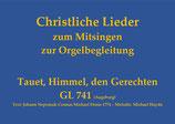 Tauet, Himmel, den Gerechten GL 741 (Augsburg)