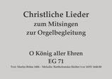 O König aller Ehren EG 71