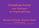 Deinem Heiland, deinem Lehrer GL 7xx/8xx/9xx (Melodie: M. Haydn)