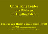 Christus, dem Herren dientest du als Herold GL 904 (Fr./Rott.-St.)