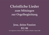 Jesu deine Passion EG 88