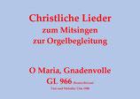 O Maria, Gnadenvolle GL 966 (Bozen-Brixen)