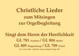Singt dem Herrn der Herrlichkeit GL 781 (Aachen) / GL 804 (Köln) / GL 805 (Regensburg) / GL 709 (Trier)