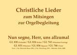 Nun segne, Herr, uns allzumal GL 830 (Eichstätt) / GL 824 (Köln) / GL 743 (München-Freising) / GL 833 (Münster) / GL 836 (Speyer) / GL 746 (Trier)