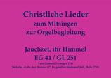 Jauchzet, ihr Himmel EG 41 (Melodie EG 316)