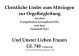 Und Unsrer Lieben Frauen GL 748 (Augsburg)