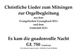 Es kam die gnadenvolle Nacht GL 750 (Augsburg)