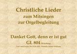 Danket Gott, denn er ist gut GL 804 (Würzburg)