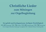 Sei gelobt und hochgepriesen, heiligste Dreifaltigkeit GL 821 (Bamberg) / GL 796 (Fulda) / GL 802 (Regensburg) / GL 788 (Würzburg)
