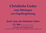 Josef, dem die höchsten Güter GL 906 (Ro.-St./Fr.)