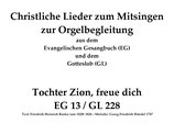 Tochter Zion, freue dich GL 228