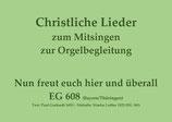 Nun freut euch hier und überall EG 608 (Bayern/Thüringen)