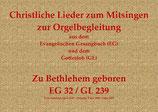 Zu Bethlehem geboren EG 32