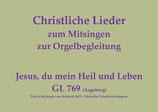Jesus, du mein Heil und Leben GL 769 (Augsburg)