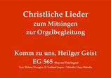 Komm zu uns, Heilger Geist EG 565 (Bayern/Thüringen)