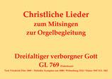 Dreifaltiger verborgner Gott GL 769 (Paderborn)