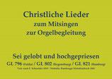 Sei gelobt und hochgepriesen GL 7xx/8xx (Bamberg/Fulda/Regensburg)